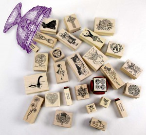 Mounted rubber stamps chalice image